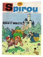 SPIROU N°   1533  DU 31/08/1967 BE