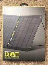 GOAL ZERO Nomad 10 Foldable Solar Panel # 11900 NEW