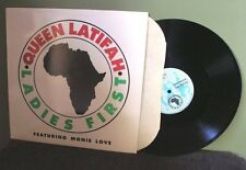 "Queen Latifah ""Ladies First"" 12"" Orig OOP Monie Love Naughty by Nature"