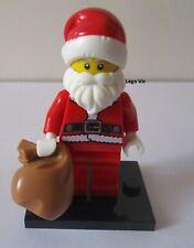 Légo 8833 Minifig Figurine Série 8 Santa Père Noël & socle