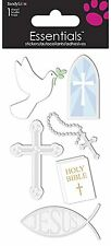 Religious Church 3D Essentials Stickers Planner Papercraft Scrapbook DIY Craft