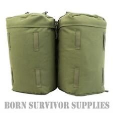 Karrimor SF Sabre Side Pockets - Green Bergen Pouches PLCE Rucksack Daysack Pack