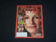 2001 JULY 9 TIME MAGAZINE - JULIA ROBERTS, BEST MOVIE STAR - T 3101