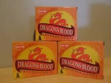 Dragons Blood Cones  3 Boxes x 10  Total 30 Cones  HEM   Free Post AU