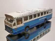 LION CAR 38 CITYBUS - KLM AUTOBUSBEDRIJF - BLUE WHITE 1:50 - GOOD CONDITION