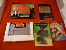 The Legend of Zelda: A Link to the Past (Super Nintendo SNES) COMPLETE w/ Box