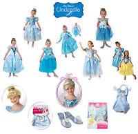 Child Disney Princess Cinderella Girls Book Week Fancy Dress Kids Party Costume