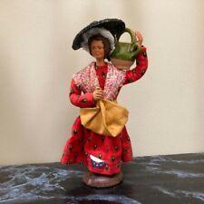 Vintage Peirano Santon Handmade France Terracotta Signed Doll