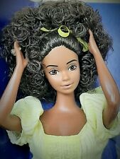 barbie vintage rarissima  black STEFFIE FACE MAGIC CURL 1981.hawaiian superstar.
