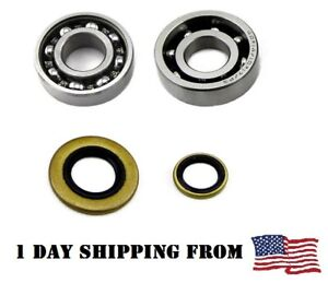Crankshaft Bearings & Oil Seals for Stihl MS260 MS240 026 024