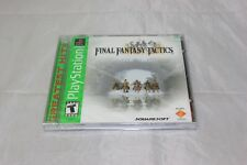 Final Fantasy Tactics (Sony PlayStation 1, 1998) Greatest Hits Brand New