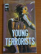 Young Terrorists #1 1st Print Polybagged Black Mask HTF RARE VF/NM Combine Ship
