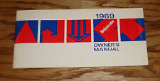 Original 1969 AMC Ambassador Owners Operators Manual 69
