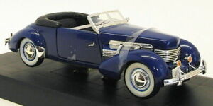 Signature Models 1/32 Scale Model Car 32312 - 1937 Cord Supercharged - Blue