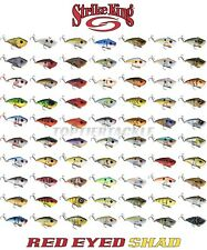 Strike King Red Eye Shad Lipless Crankbait Lure - Select Size/Color
