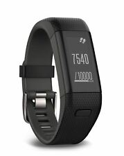 Garmin Vivosmart HR+ GPS Activity Tracker - Integrated HRM -Black - Regular (A)