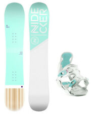 Nidecker Elle 147cm Women's All Mountain Snowboard+2020 Flow Haylo Bindings NEW