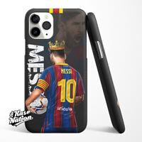 Leo Messi iPhone 6 6s 7 8 X XR XS Max 11 12 Pro Plus Case Cover theKING
