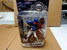 MCFARLANE RYAN BRAUN MLB ELITE BREWERS REG BLUE UNIFORM FIGURE