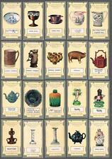 1913 R. J. Lea Old Pottery and Porcelain Fourth Series Tobacco Cards Complete