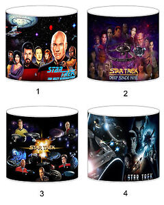 Star Trek Lampshade Ideal To Match Bedding Duvets Curtains Cushion Covers