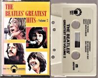 THE BEATLES GREATEST HITS / Volume 2 - Cassette