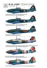 Hungarian Aero Decals 1/48 ILYUSHIN IL-10 LATE VERSION Russian WWII Bomber Pt.1