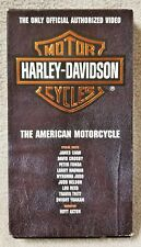 HARLEY-DAVIDSON THE AMERICAN MOTORCYCLE Vhs Tape 1993 Offical Authorized Video