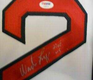 """Wade Boggs """"HOF 05"""" AUTOGRAPH Red Sox Jersey XL PSA HOF"""