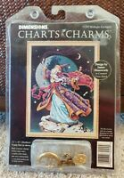 Dimensions Charts & Charms MIDNIGHT ENCHANTER Cross Stitch Pattern Wizard