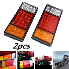 2pcs DC 12V 36 LED Tail Lights Ute Trailer Caravan Car Truck Boat Stop Indicator