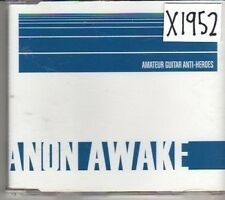 (CM291) Amateur Guitar Anti-Heroes, Anon Awake - 2003 CD