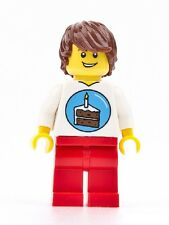 LEGO Birthday Party Minifigure Minifig ~ Can Double as Cake Topper  NEW / SEALED