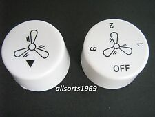 Ceiling fan control switch knobs replacement  * 1 pair * Suits Many Ceiling Fans