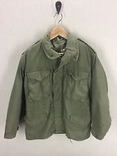 Vintage 1974 Alpha Industries M-65 Field Jacket~Sz Small-Short~Vietnam Era