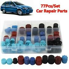 77Pcs/Set Car A/C R134A R12 High Low Side Valve Core/Service Port Dust Cap H2P5