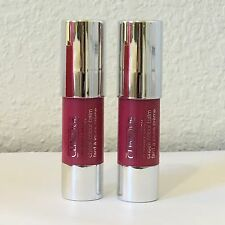 2X Clinique Chubby Stick Cheek Color Balm 03 Roly Poly Rosy 3.6g