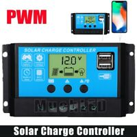 30-60A Solar Charger Controller Panel Battery Intelligent Regulator USB 12V/24V
