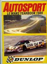 Autosport 1989 LE MANS YEARBOOK - Teams & Cars & Drivers