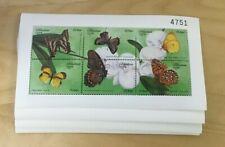 SPECIAL LOT Bhutan 1999 1239 - Butterflies - 50 Sheetlets of 6v Each - MNH