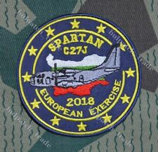 Bulgarian Air Force SPARTAN C27J Transport Squadron Pilot Uniform PATCH