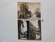 Postkarte Ansichtskarte Thüringen.Erfurt.Die Blumenstadt