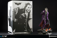 Batman The Dark Knight THE JOKER Heath Ledger Premium Format Sideshow Statue
