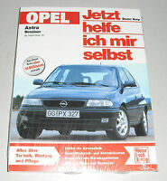 Reparaturanleitung Opel Astra F Benziner 1,4 / 1,6 / 1,8 / 2,0 liter, ab 1991