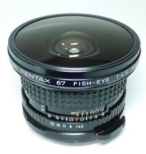 smc Pentax 67 FISH-EYE 4.5 35mm Objektiv  An-Verkauf!  ff-shop24
