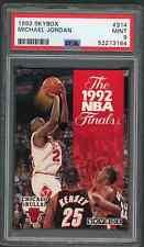 1992 93 Skybox #314 Michael Jordan PSA 9 MINT