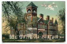 Oskaloosa High School Iowa 1910 postcard