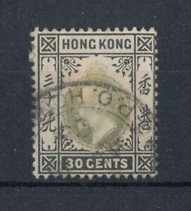 "Britische Kronkolonie MA31177  ""Hongkong"" 30 Cent  Mi.Nr.69  , gestempelt"