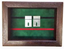 Small Royal Green Jackets Miniatures Medal Display Case