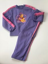 Vintage Winnie The Pooh Sweatpant Jogging Outfit Size 5/6